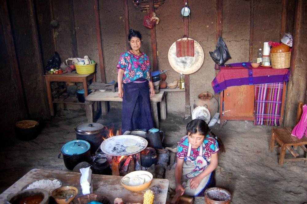 fabrication tortillas mais mexique