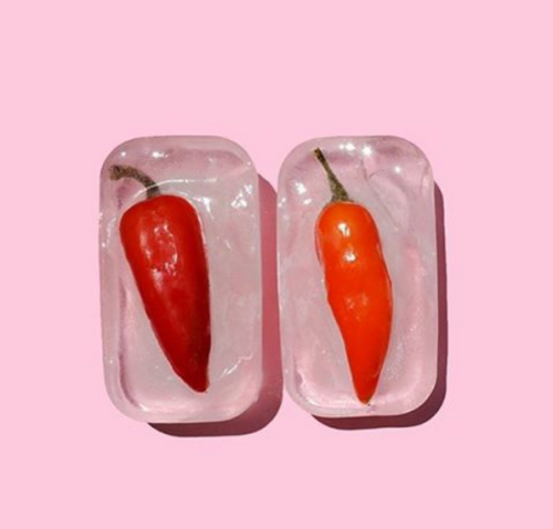chili ice cube