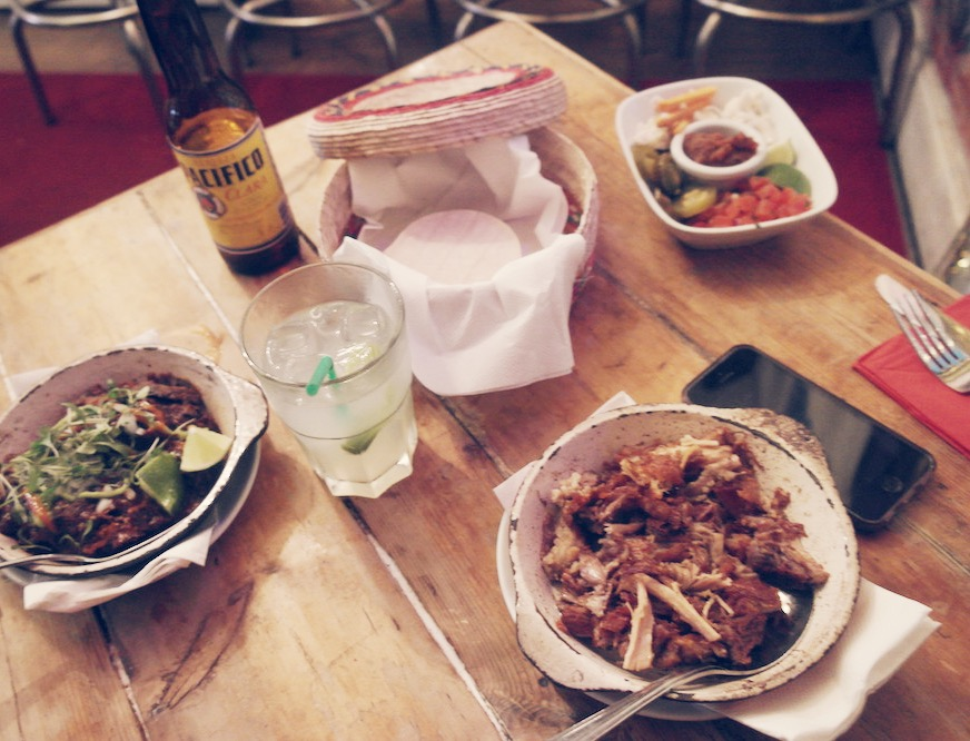 santo - mexican food - notting hill london - tacos 2