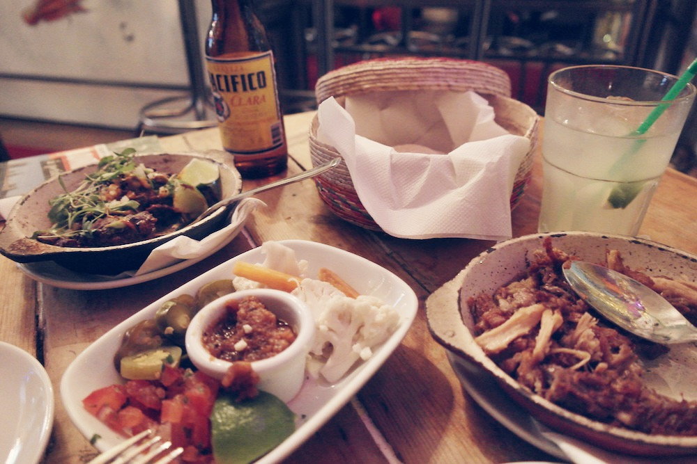 santo - mexican food - notting hill london - tacos