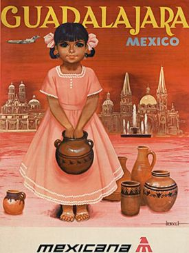 Guadalajara Mexico vintage