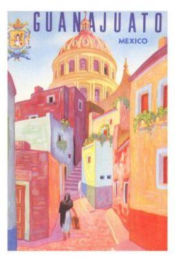 Guanajuato Mexico vintage