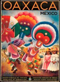 Oaxaca Mexico vintage