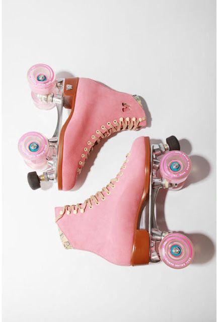 pink roller disco