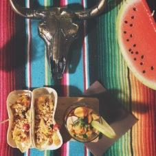 tacos poulet satay 3