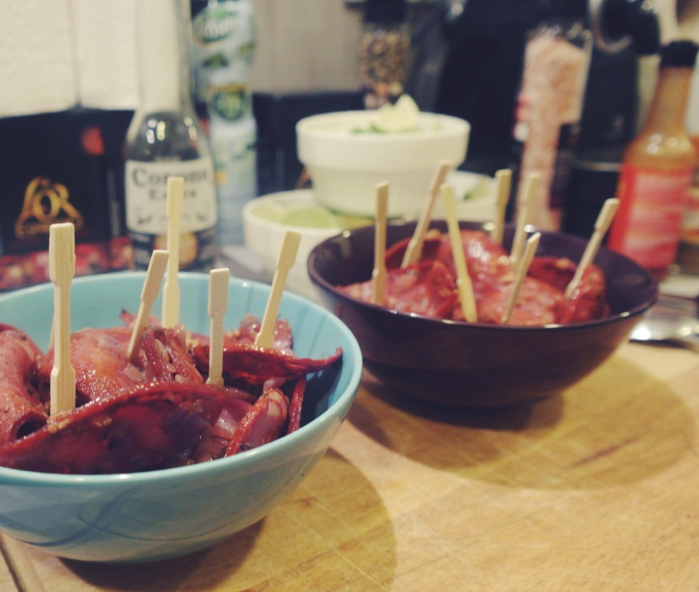 soirée disco & tacos 01:04:2016 chorizo vin rouge
