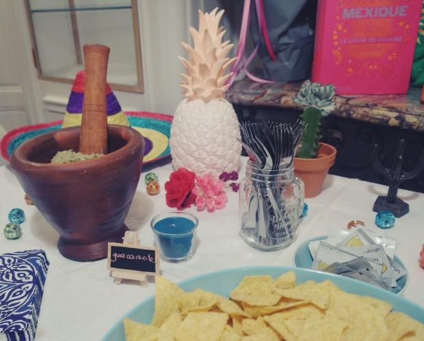soirée disco & tacos 01:04:2016 guacamole et déco