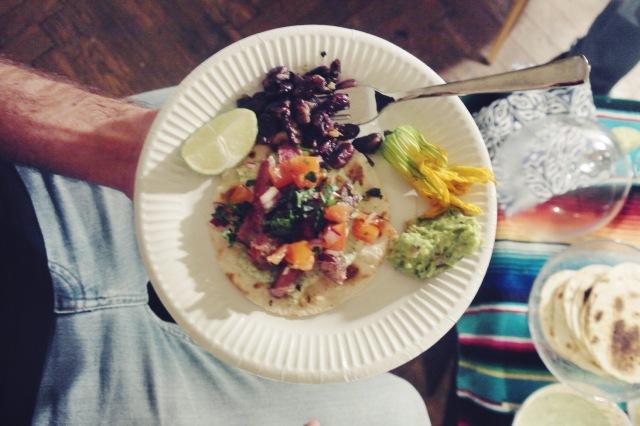 tacos boeuf mariné 1