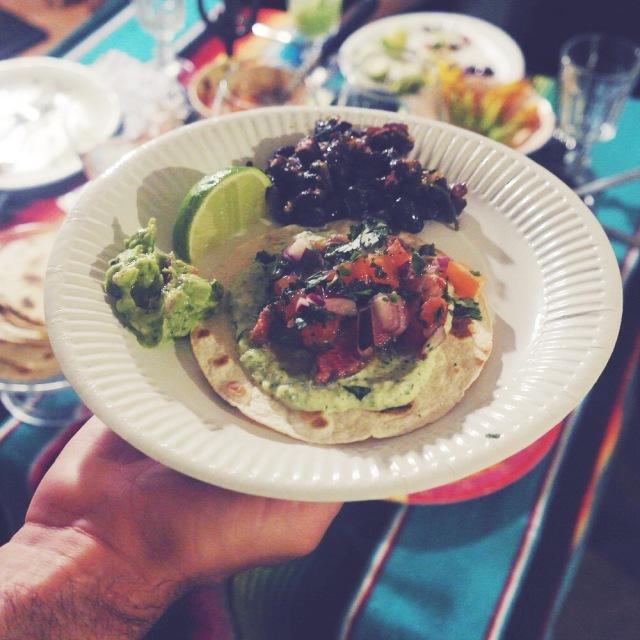 tacos boeuf mariné