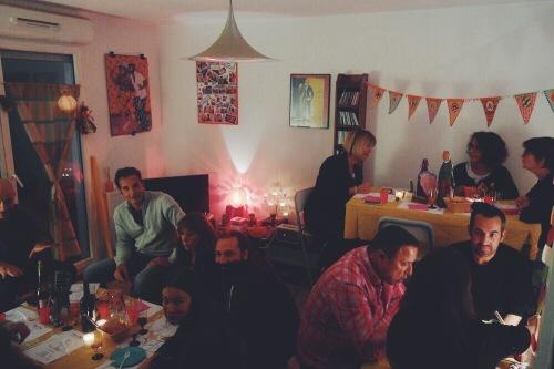 Disco & Tacos soirée à la maison