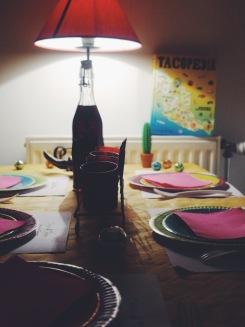 Disco & Tacos soirée à la maison déco