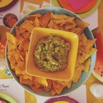 Disco & Tacos soirée à la maison guacamole