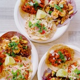 Assiettes de tacos